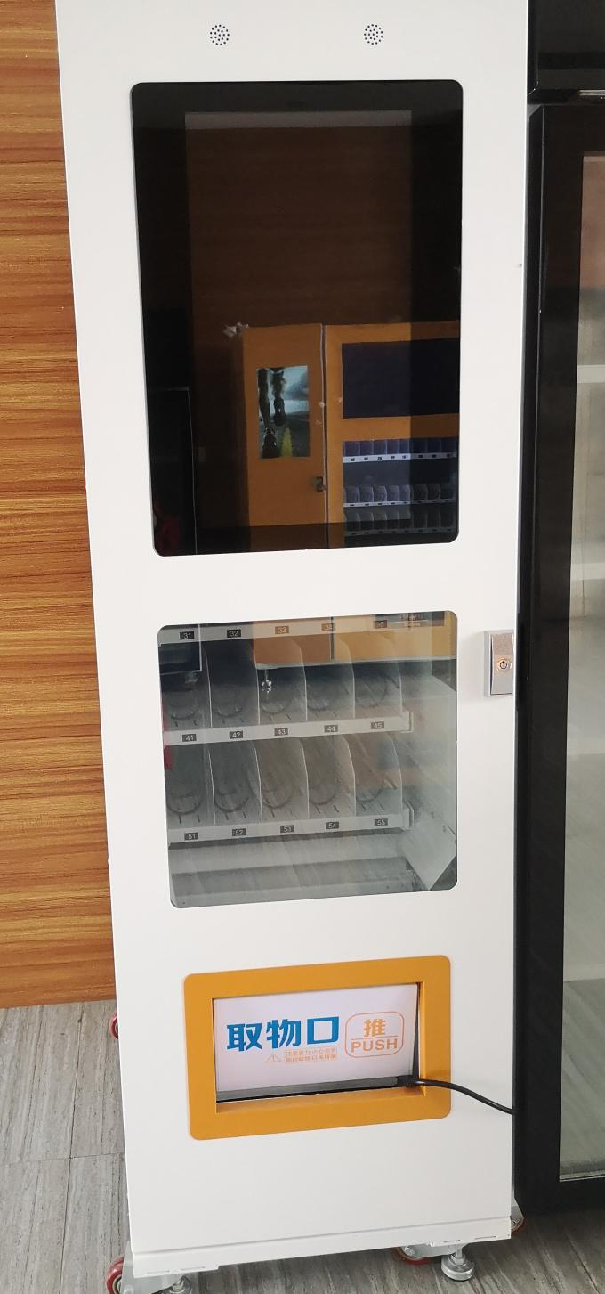 22 Inch Ads Screen Commercial Vending Machine , Automatic Outdoor Vending Machines
