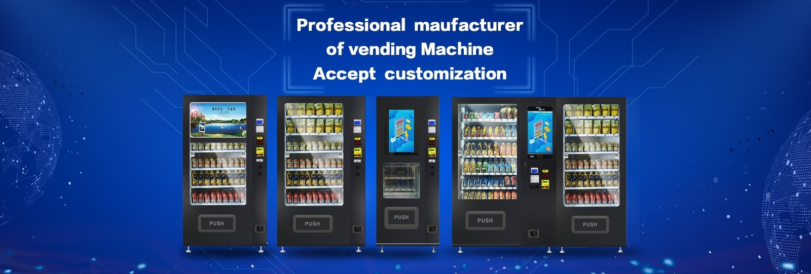 China best Snack Food Vending Machines on sales