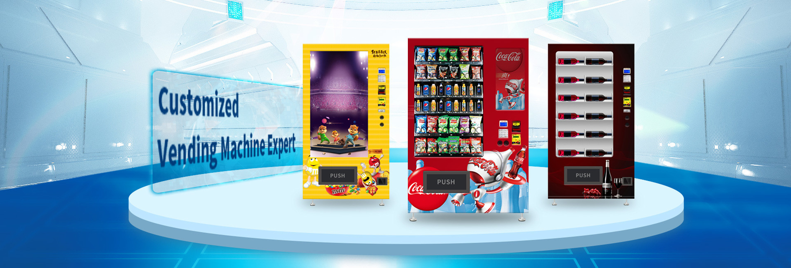 China best Automatic Vending Machine on sales