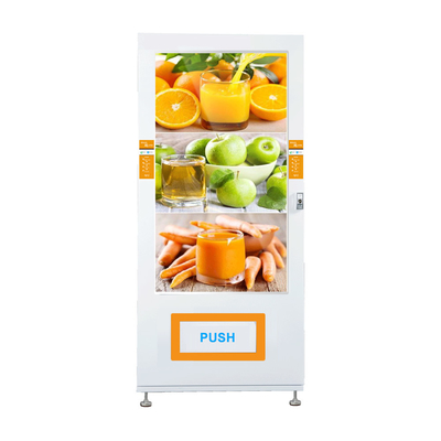 China Auto Drink Vending Machine , Electronics Vending Machine With 55 Inch Large Touchscreen factory