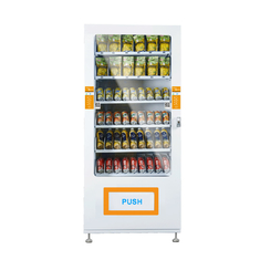 China Coin Operated Automatic Snacks Vending Machine For sale LED Lighting For Brilliant Merchandising factory