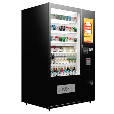 Customized Logo Medicine Vending Machine High Strength Steel Construction
