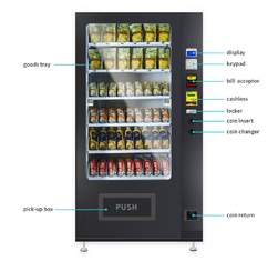 China 24 Hours Self Service Automatic Vending Machine With Low Consumption factory