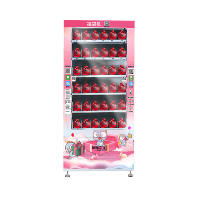 China LED Lighting Lucky Vending Machine With Cashless Payment Systems factory