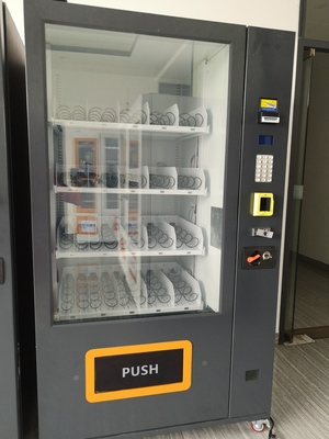 Self Service Automatic Combo Vending Machines With Cashless Payment Systems