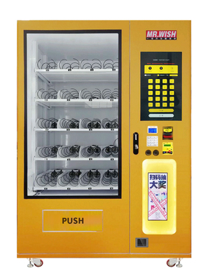 China HUIZU Mystery Happy / Lucky Box Vending Machine With 22 Inch Touch Screen factory