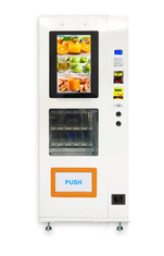 Anti - Theft Candy / Snack Foods Automatic Vending Machine Normal Temperature