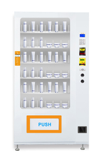 Self Automatic Custom Cosmetics Lipsticks Vending Machine With Elevator Lift Sysytem , 9 Cargo Roads