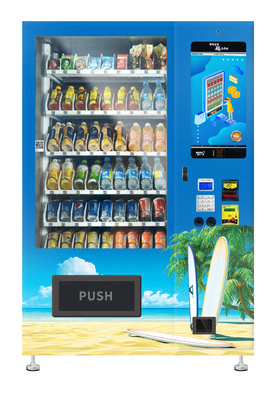 Energy Efficient Drinks Automatic Vending Machine With Cooling System 2-20℃