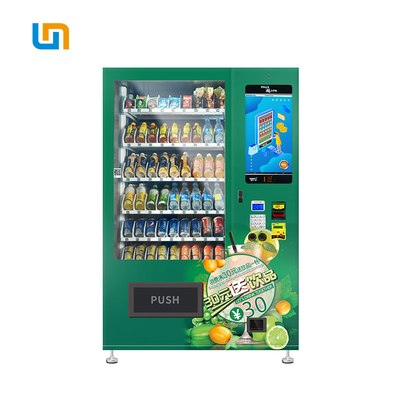 Fruit Juice Conveyor Belt Vending Machine Size W1280mm*T830mm*H1930mm