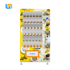 China Convenient Breakfast Lunch Vending Machine Normal Temperature Refrigerated Optional factory