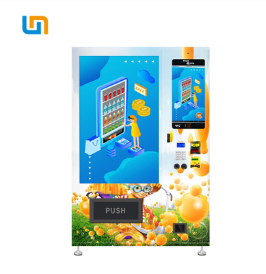 Customize Color Combo Automatic Vending Machine Cooling System 2-20℃