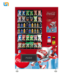 China CE Rohs Snack Food Vending Machines With Cooling System And Multiple Payment 22''Touch Screen factory