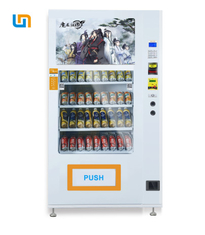 32 Inch Advertising Screen Media Vending Machine For Shop White Color