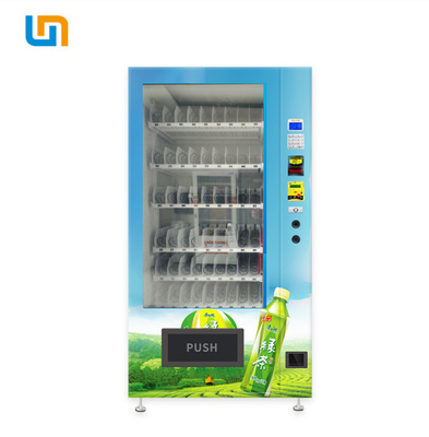 China Soft Drink / Bevarage Snack Food Vending Machines For Business No Touch Screen factory