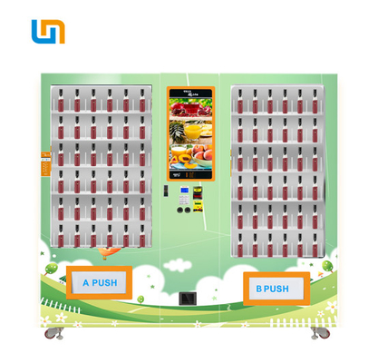 China Comprehensive Umbrella Raincoat Combo Vending Machine Automatic With LCD factory