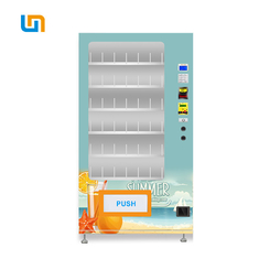 Freeze Cold Drinks Beverage Automatic Vending Machine With R134a Refrigeration