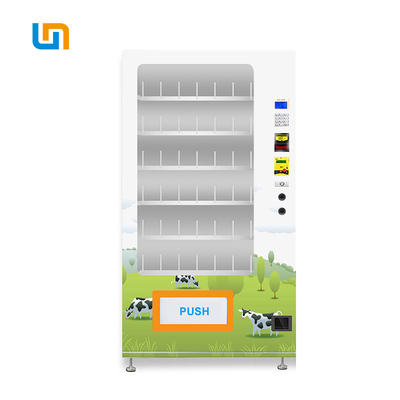 China Milk Dairy Products Vending Machine Adjustable Temperature Keep Fresh factory