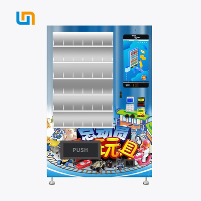 China Anti - Theft Toy Car Transformers Vending Machine With Elegant Aluminium Door factory