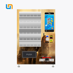 China Movie Disc DVD CD Vending Machine With Double Tempered Glass Door factory