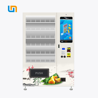 China Dragon Boat Festival Zongzi Cupcake Custom Vending Machines With 22 Inch Touch Screen factory