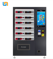 China Micron WM22 Red Wine Liquor Custom Vending Machines With Lift System factory