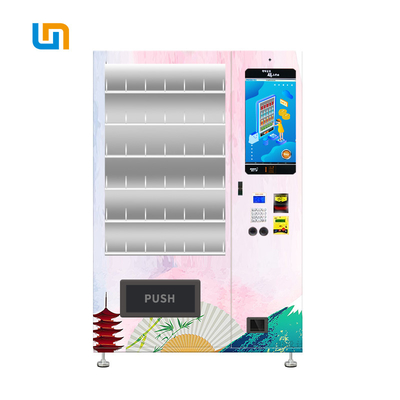 China Traditional Folding Fan Custom Metal Vending Machine Elegant Aluminium Door factory