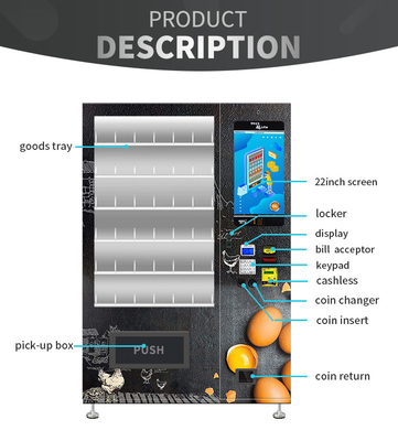 China Customize Painting Eggs Elevator Vending Machine Protected Goods For Small Supermarket factory