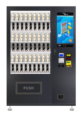 Double Layer Glass Automatic Vending Machine LED Lighting For Brilliant Merchandising