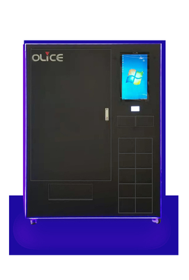 Anti - Theft Tools Vending Machine With Tiltable Trays For Easy Product Loading