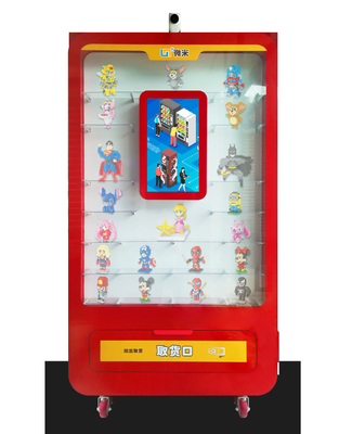 LED Lighting Automatic Vending Machine / Smart Toy Vending Equipment