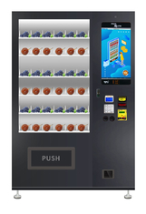 Food And Lunch Box Vending Machine With Double Tempered Glass Door