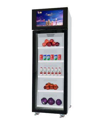 Office Snack Food Vending Machines 4~5 Shelves 420 L Electric Door Lock