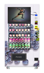 China Automatic Grapes Fruit Vending Machine Customize Color 650watt 110V factory