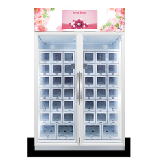 Convenient Fresh Food Automatic Vending Machine International Standard