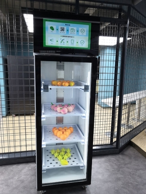 Safety Glass Automatic Vending Machine / Weight Sense Vending Machine