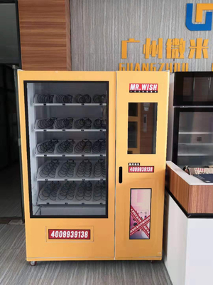 LED Lighting Lucky Vending Machine With Cashless Payment Systems supplier