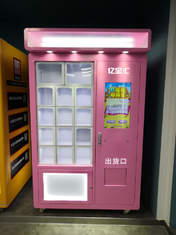 Salad Jar Canned Bottle Vending Machines With 22 Inch Touch Screen, touch screen vending machine, Micron