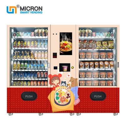 1193 Cup Noodles Vending Machine With Hot Water Supply System