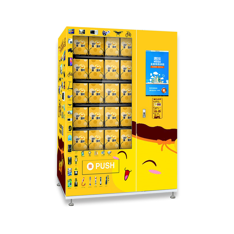 Automatic Lucky Box Vending Machine for sale Real Time Understanding With Remote Monitoring supplier