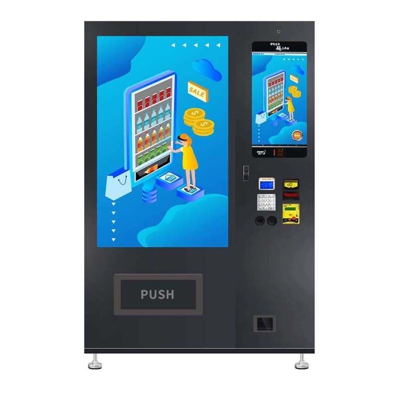 WM55A22-W Electronic Elevator Vending Machine Large Capacity For Airport / Railway Station supplier