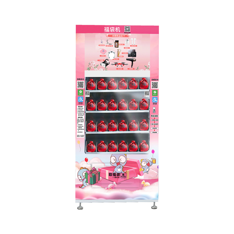Touch Screen Lucky Box Vending Machine LED Lighting For Brilliant Merchandising supplier