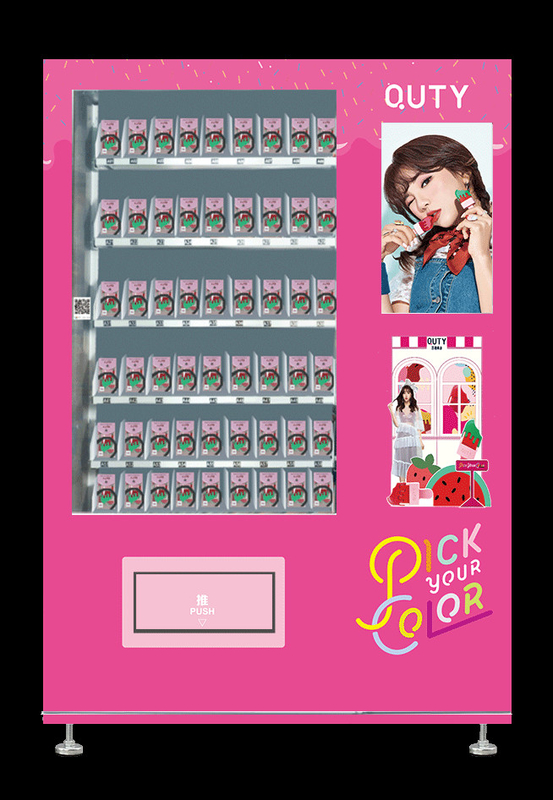 Easy Operate Game Vending Machine for sale, 24 Hours Lipstick Vending Machine supplier