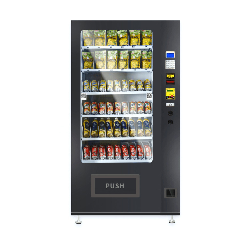 Drink Snack Combo Vending Machines for Sale With Freezing Temperature System supplier
