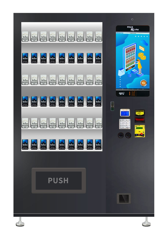 Automatic Hotel Cigarette Vending Machine With Advertising Screen Monitor supplier