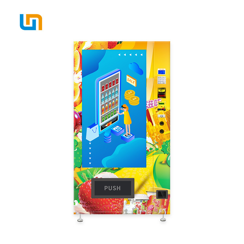 Smart Micron Snack Food Drinks Combo Vending Machine Cooling System 2-20℃ Adjustable supplier