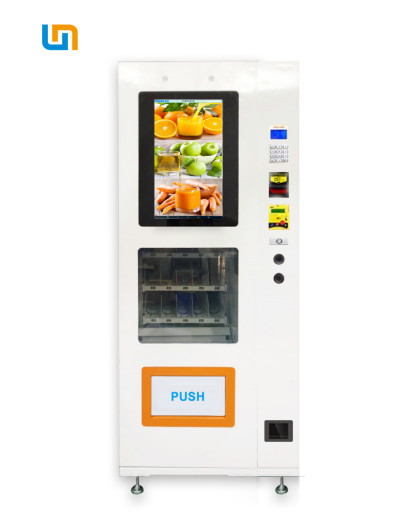 Mini Snack Food Vending Machines Automatic With LCD Placed On A Long - Distance Bus supplier