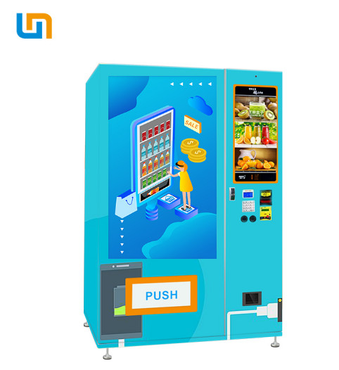 WM55A22-W earphone mobile phone charger media vending machine for sale,can charge your phone supplier