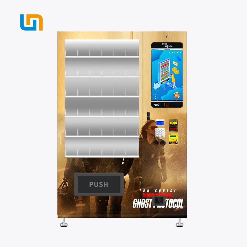 Movie Disc DVD CD Vending Machine With Double Tempered Glass Door supplier