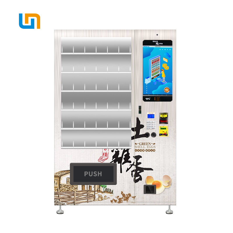 Vegetables Conveyor Belt Vending Machine With Customizable Sticker And Logo supplier